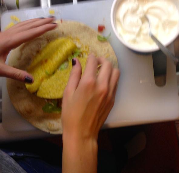 Homemade Taco Bell #crunchwrap supreme
