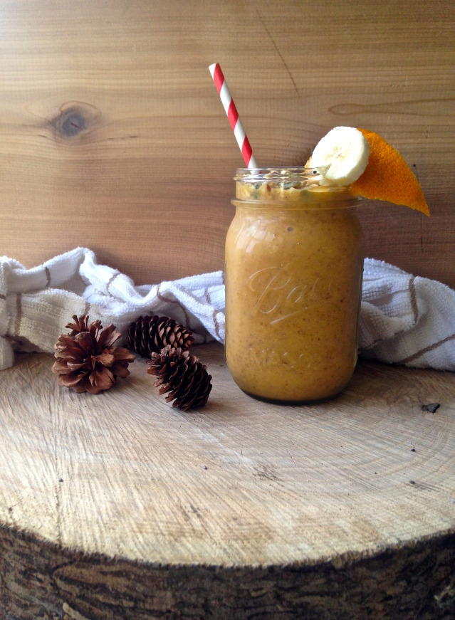 Delicious #pumpkin smoothie
