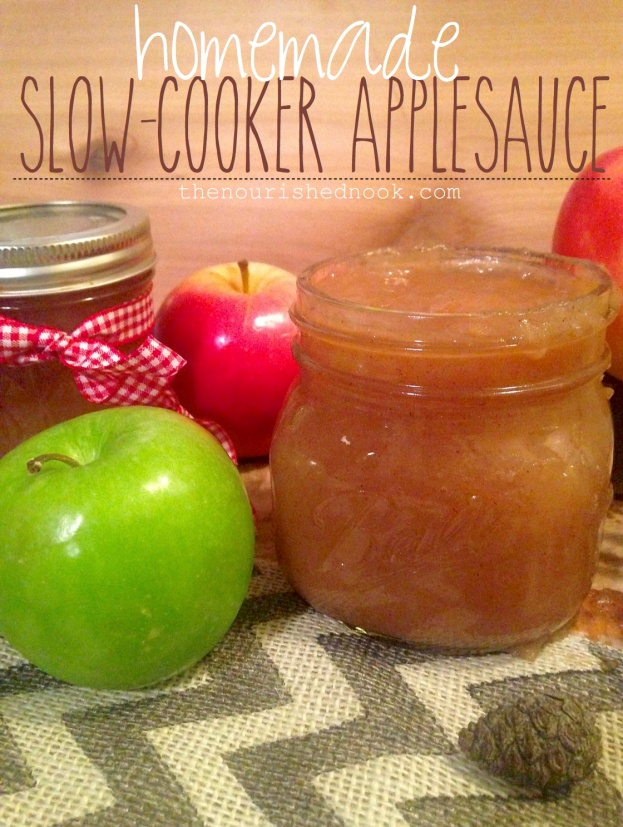 slow cooker applesauce copy